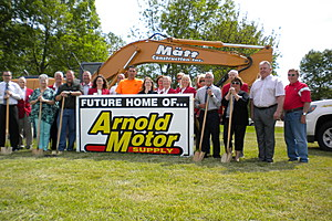 Groundbreaking For New Site Of Oelwein Business
